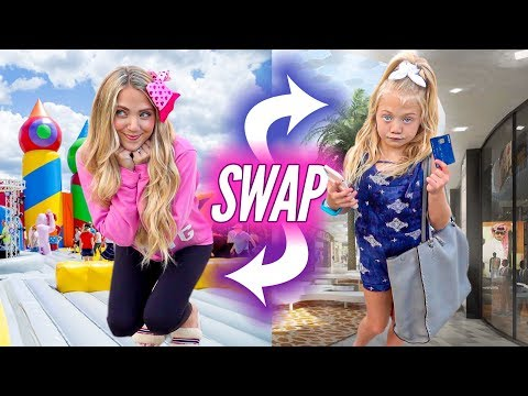 6 Year Old Everleigh and Her Mom Swap Bodies For 24 HOURS