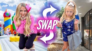 Download 6 Year Old Everleigh and Her Mom Swap Bodies For 24 HOURS Mp3 and Videos