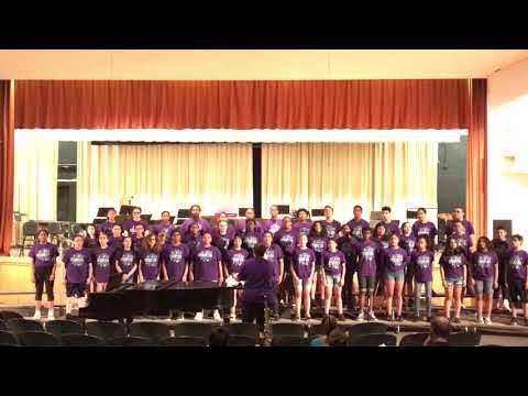 "Esek Hopkins Middle School Chorus - Trills & Thrills 2018 - ""This Is Me"""