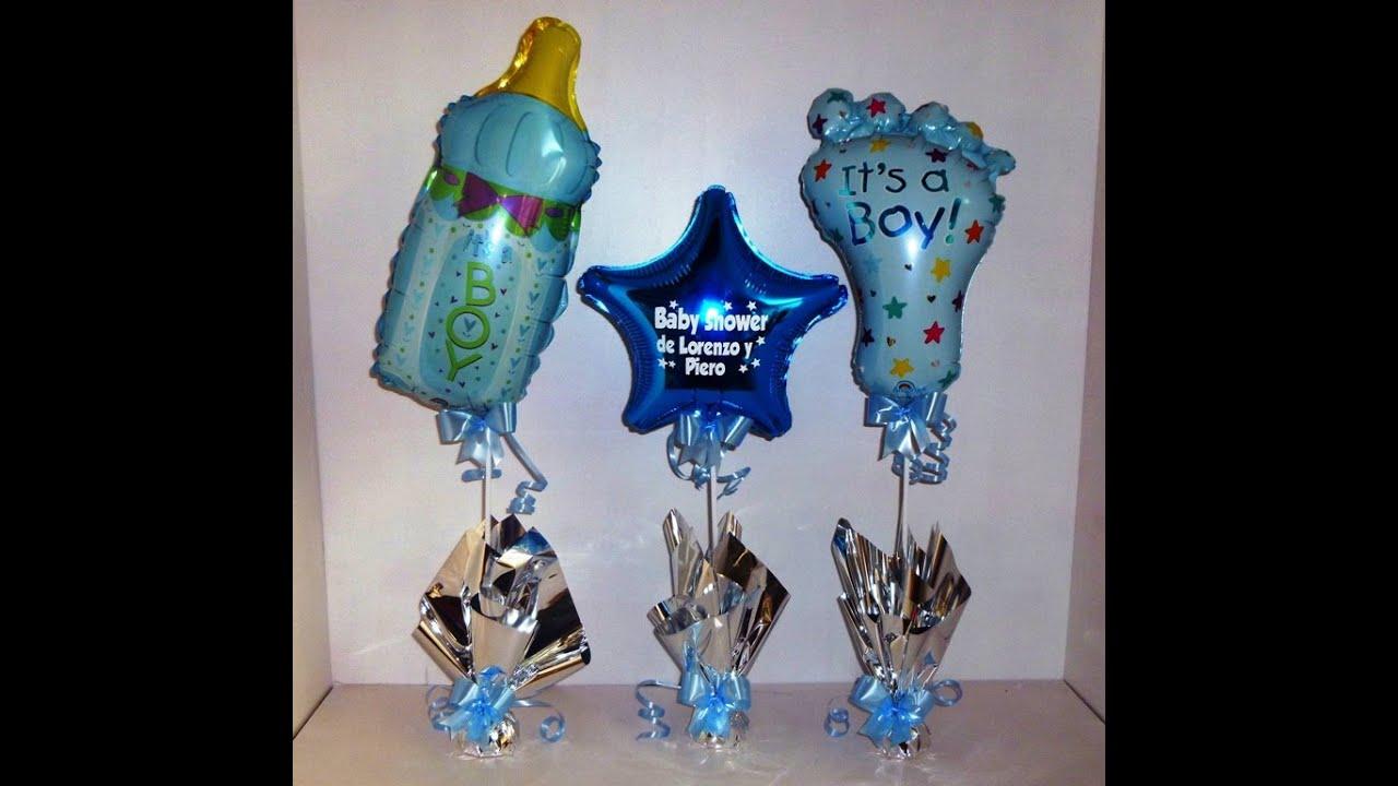 Centros de mesa infantiles globos para fiestas youtube - Centros de mesa con globos ...