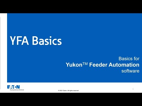YFA Basics: Creating a new region - Part 2, Topology