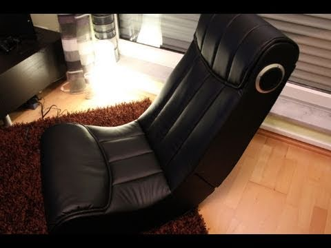 Soundz Game Chair  Music Rocker Basic Test  Review Deutsch  YouTube