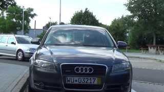 Auta z Niemiec #16/07/2015: AUDI A4 /Würzburg - wspomnienie lata/