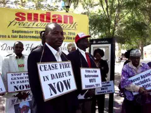 Simon Deng: The Sudan Freedom 2010 Walk Begins in NYC