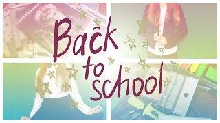 BACK TO SCHOOL | Канцелярия + школьная форма(Обложки: https://vk.com/handmadebookcovers Совсем скоро в школу, а это значит что пора закупаться! В этом видео я покажу..., 2015-08-25T14:41:24.000Z)