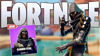 The New Cloaked Star Ninja Skin Gameplay In Fortnite..