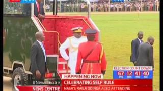 Madaraka Day celebrations officially begin in Nyeri
