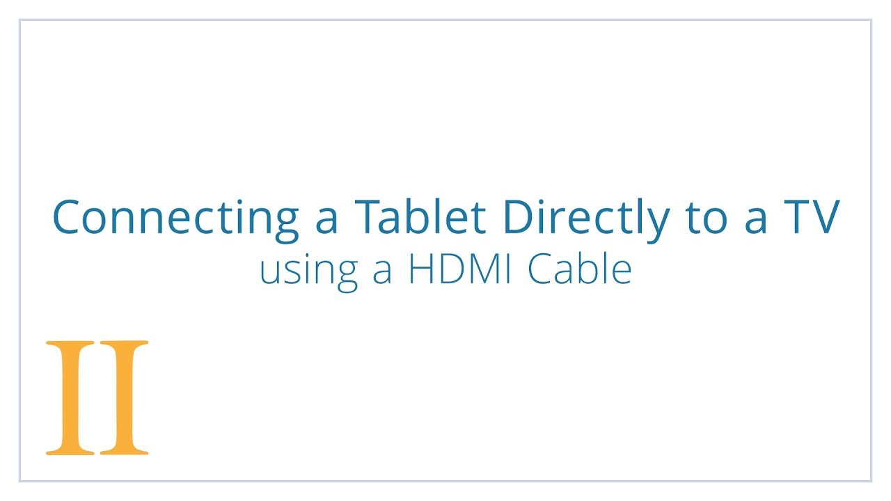 Connecting A Tablet Directly With Hdmi Cable Gemiini Youtube Jeep Cherokee Audio Wiring