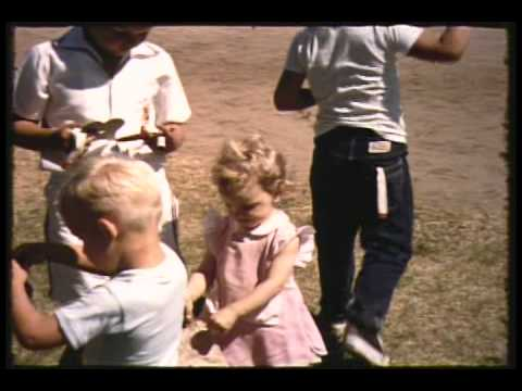 Los Angeles Rams 1957 family picnic LA Rams Football Tommy Wilson