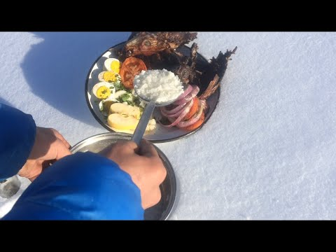 primitive technology: How to Cook a wild Rabbit in the wilderness ,Campfire ,solo bushcraft (part 2)