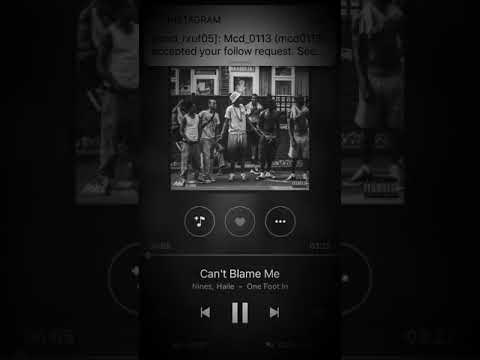 Nines - can't blame me ft