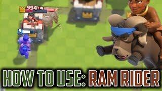 OH GOOD JOB SUPERCELL, YOU MADE A RAM RIDER. RAM. RIDER. O R I G I ...