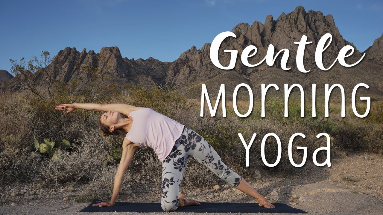 Gentle Morning Yoga - 15 Minute Gentle Yoga Sequence