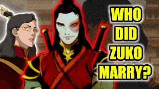 Who Did Zuko Marry | Who is the Mother of Izumi | Avatar The Last Airbender Theory