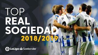TOP Goals Real Sociedad LaLiga Santander 2018/2019