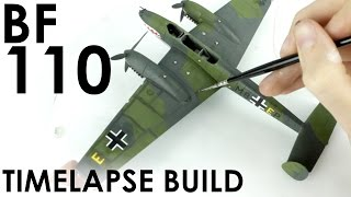 Airfix BF 110 Build & Review - 1:72 Scale Kit
