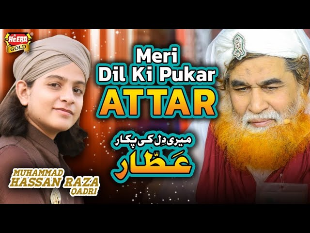 Muhammad Hassan Raza Qadri | Meri Dil Ki Pukar Attar | Official Video | Heera Gold | New Kalam 2020
