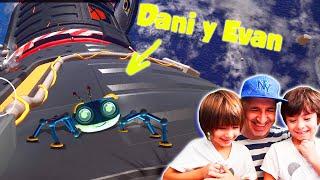 MISION ESPACIAL con el ROBOT agente secreto SPYDER y Dani y Evan!! Juegos Apple Arcade