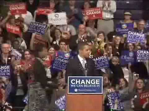 Barack Obama - Yes We Can electro song (video mix)