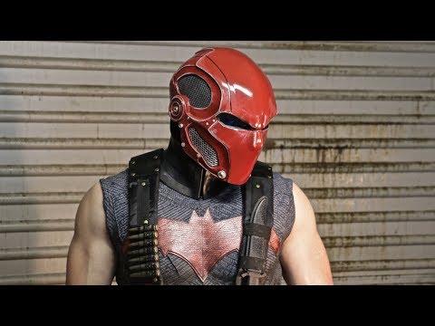 The Road to Red Hood- Part 10: Final Helmet Reveal!