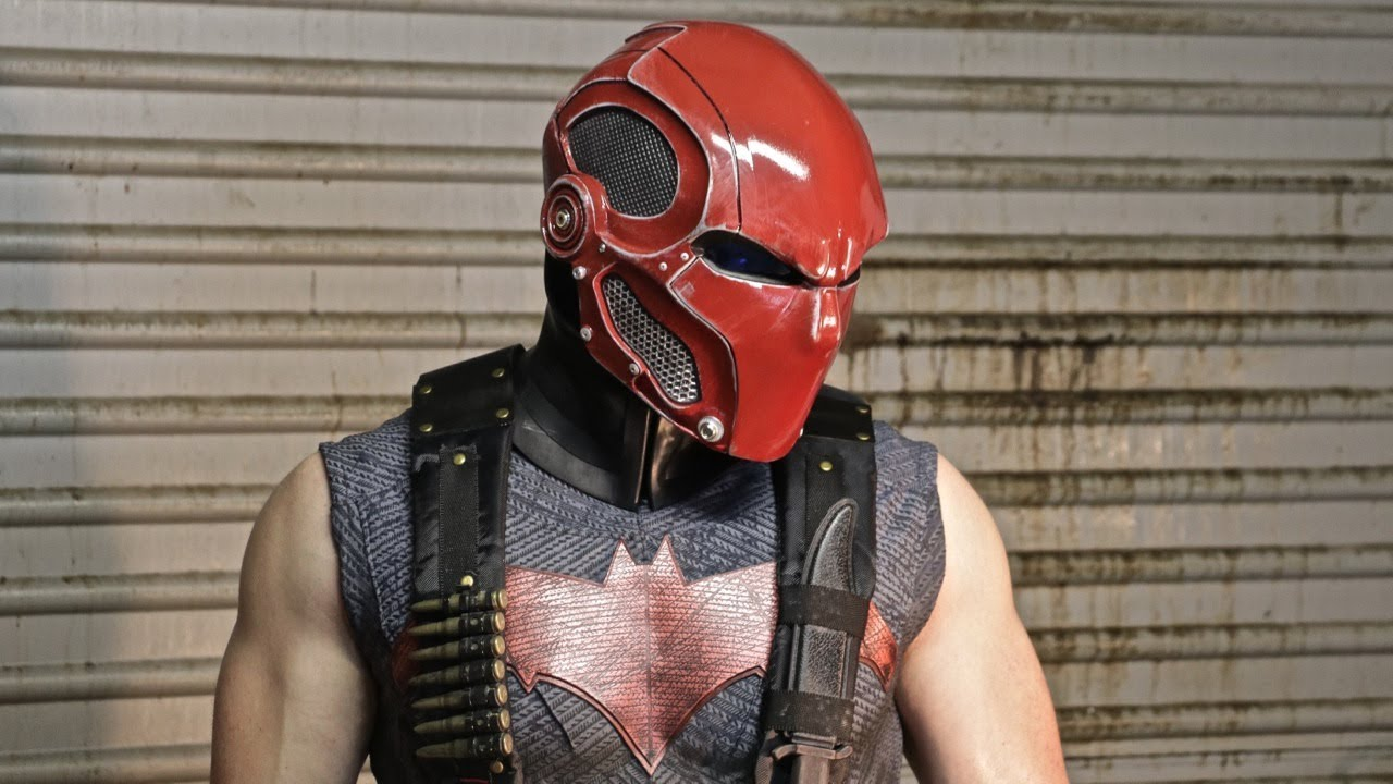 Red Hood Cosplay//Prop Mask Commission