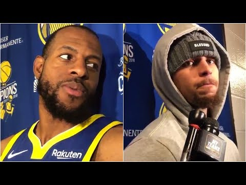 Andre Iguodala says Stephen Curry is the second best PG ever, Curry responds
