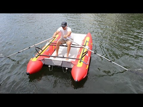 DIY Rowing Frame For Inflatable Boats And Rafts