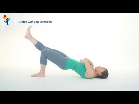 Core Exercise: Bridge with Leg Extension
