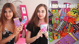 Пробуем Американские Сладости /Trying American Candy