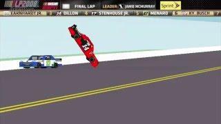 ROBLOX 2013 Austin Dillon Talladega crash