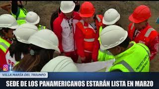 SEDE DE LOS PANAMERICANOS ESTARÁ LISTA EN MARZO