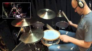 Learn to play double bass drums   with Tim Brown