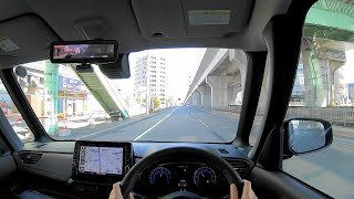 【Test Drive】 2020 New Mitsubishi eK X(Cross) Space Hybrid 660cc Turbo 4WD - POV Drive