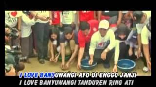 Wandra - I Love Banyuwangi # One Nada