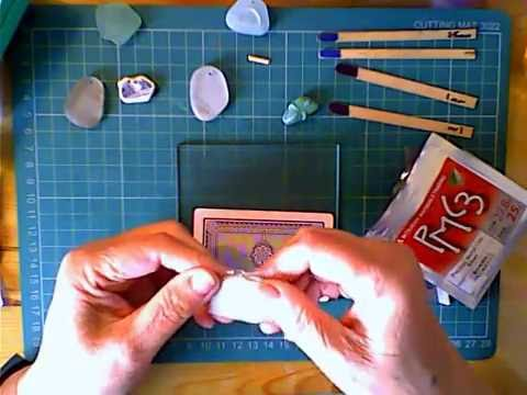 Copper Clay set Sea Glass part 1 of 4
