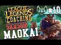 Season 7 LoL Coaching #10 - Maokai Top vs. Pantheon (S6 Platinum)