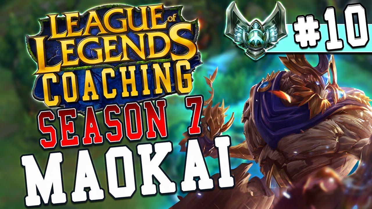 Season 7 LoL Coaching #10 – Maokai Top vs. Pantheon (S6 Platinum)