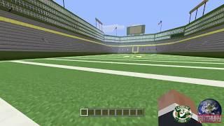 Lambeau Field on Minecraft Playstation 4