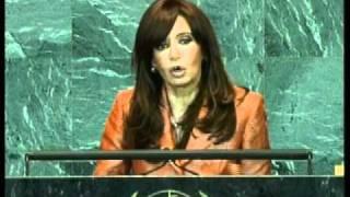 Asamblea General de la ONU 2009. Discurso de la Presidenta Cristina Fernández