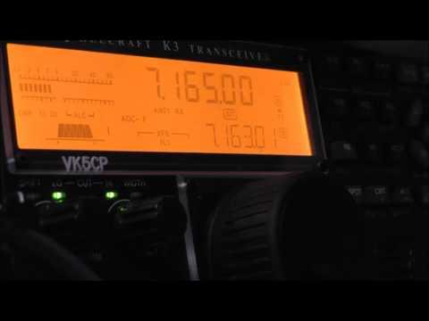 VK5ARG 2016 CQ WPX SSB 40m morning grey line