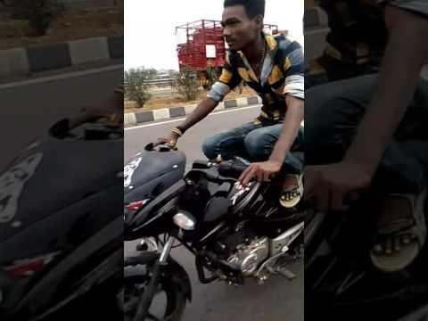 P.n.polladhavan bike weheeling