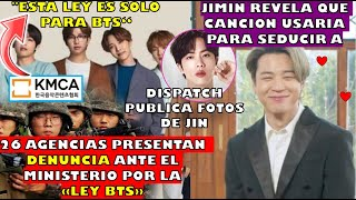 "JIMIN REVELA Q CANCION USA PARA SEDUCIR ❤️|KMCA PRESENTA QUEJA FORMAL POR LA ""LEY BTS""