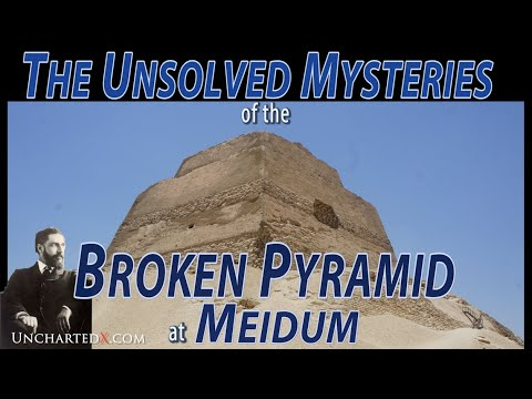 The Unsolved Mysteries Of The Broken Pyramid At Meidum, Egypt
