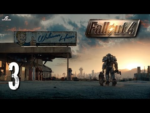 Fallout 4 Ep.3 - March to Concord  (Blind Let's Play)(1440p)