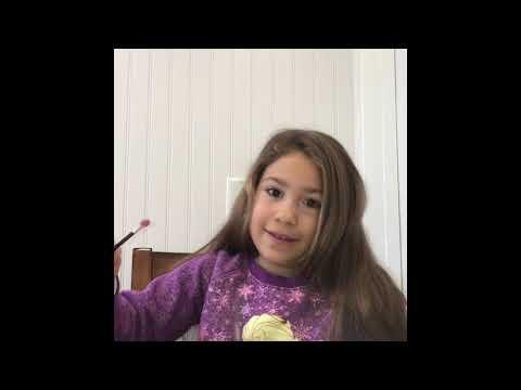 Bella's makeup tutorial for kids