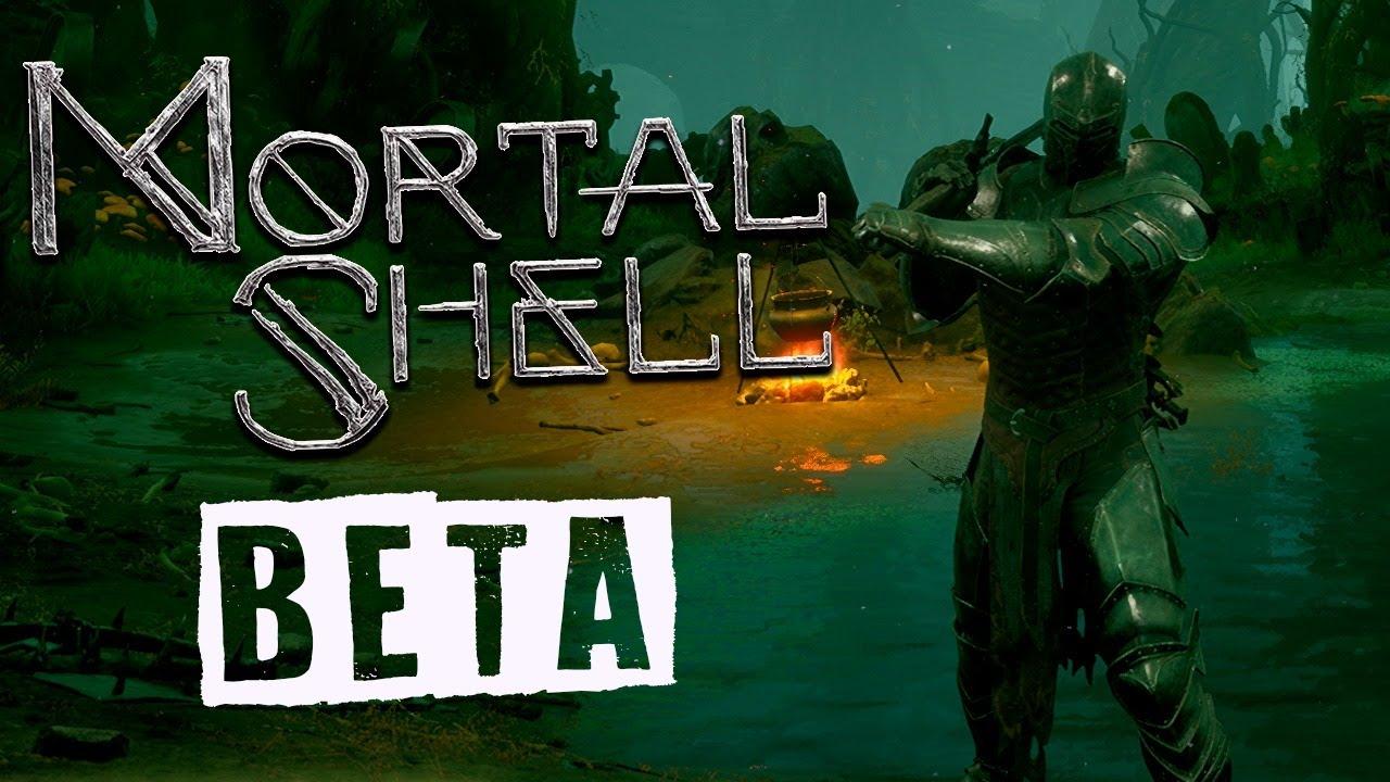 MORTAL SHELL | JOGANDO O OPEN BETA AO VIVO!!!