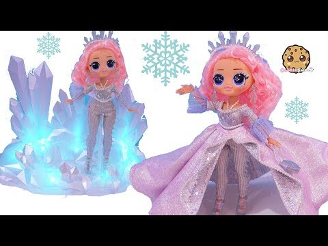 CRYSTAL STAR Big Sister OMG LOL Surprise Collector's Winter Disco Ice Doll Video