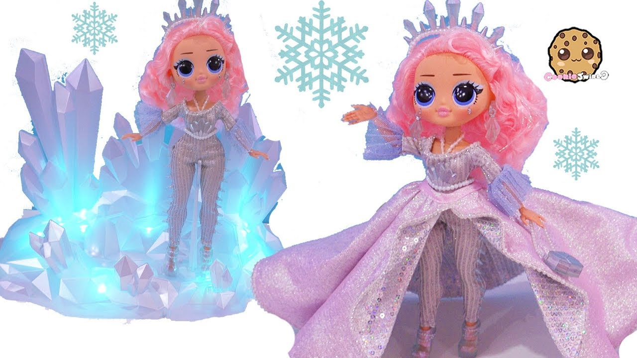 [VIDEO] - CRYSTAL STAR Big Sister OMG LOL Surprise Collector's Winter Disco Ice Doll Video 3