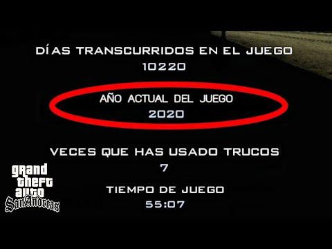 Esto Pasa Si Llegas Al Año 2020 En Gta San Andreas !