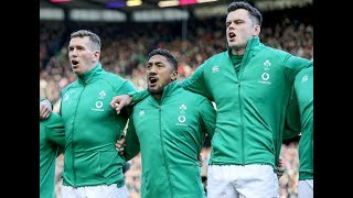Ireland sing Ireland's Call ahead of kick off at BT Murrayfield! | Guinness Six Nations